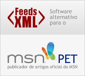 Feeds XML - Software alternativo ao PET da Microsoft